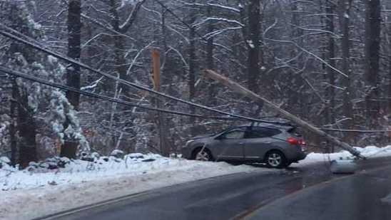 Crash in Westford between Acton & Griffin Streets