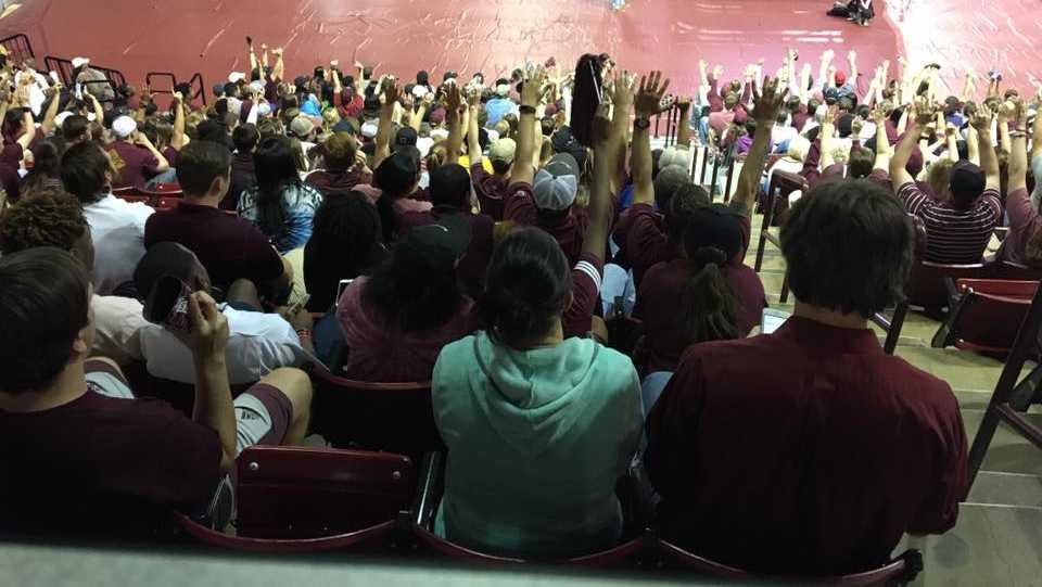 MSU fans
