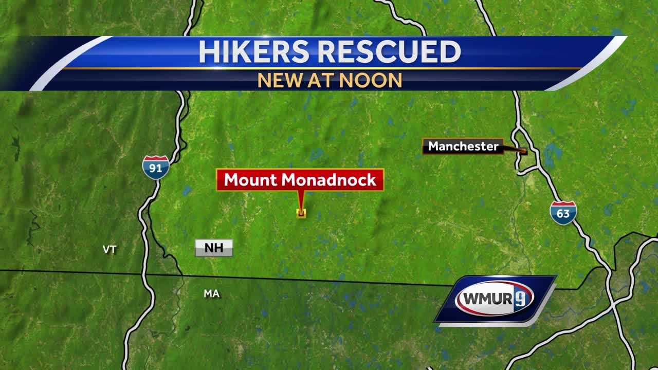 Mount Monadnock hikers rescued