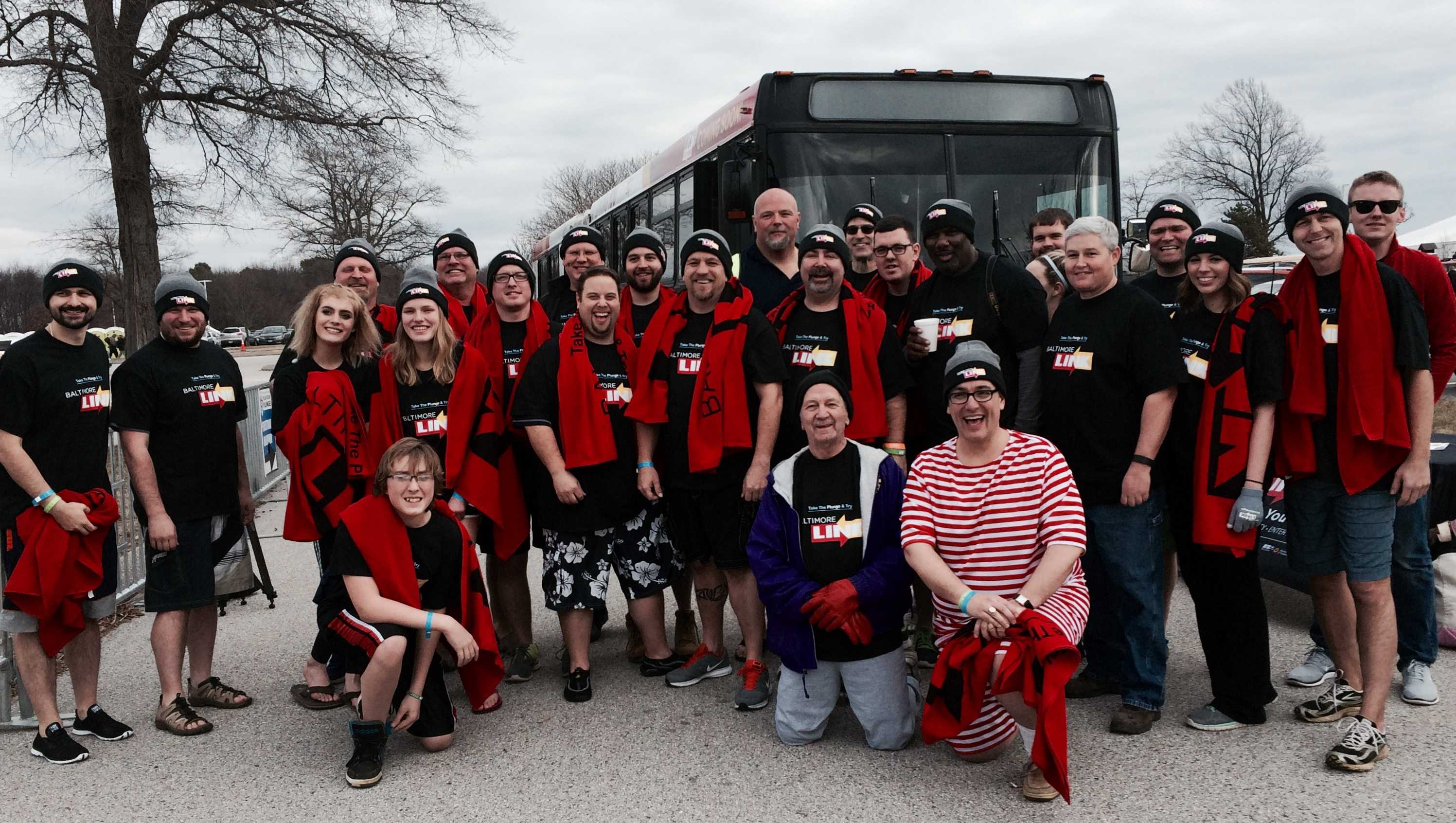 MTA team at the Polar Bear Plunge