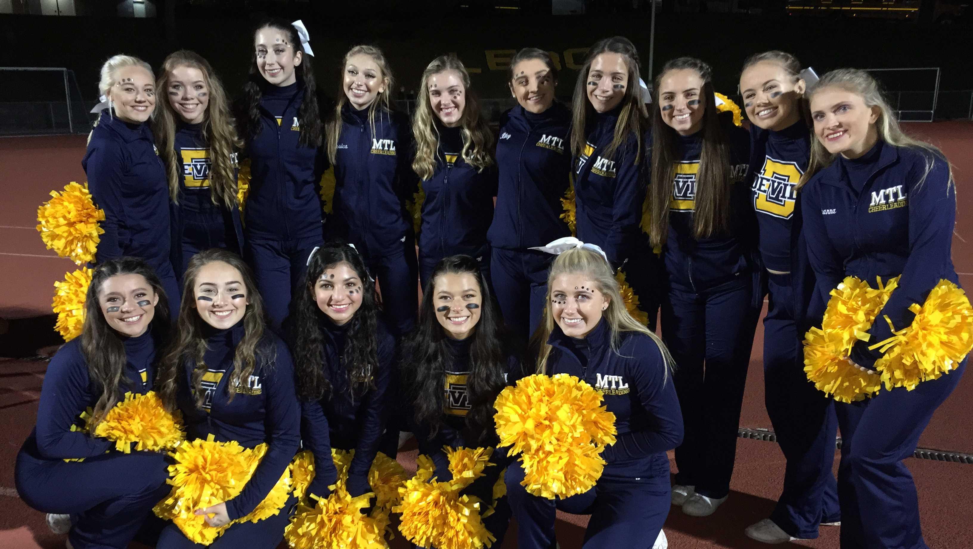 Mt. Lebanon cheerleaders