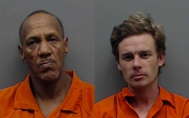 Mugshots of Maholmes robbery suspects: 58-year-old Billy Ray Johnson and 34-year-old Michael Blake Pinkerton