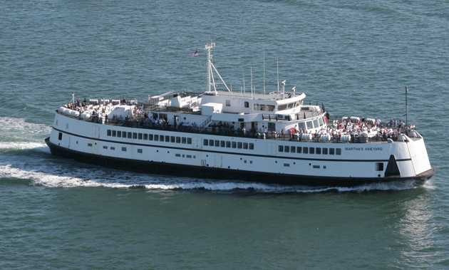Ferry Martha's Vineyard Back in Service After Minor Mishap