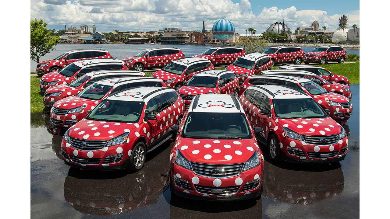 Lyft Minnie Vans to shuttle visitors around Disney World