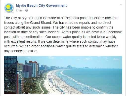 Wyff Tv Myrtle Beach City Government Facebook
