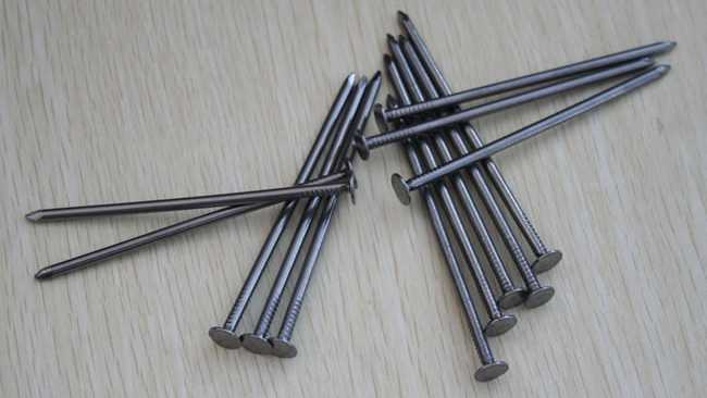 galvanized nails, file photo