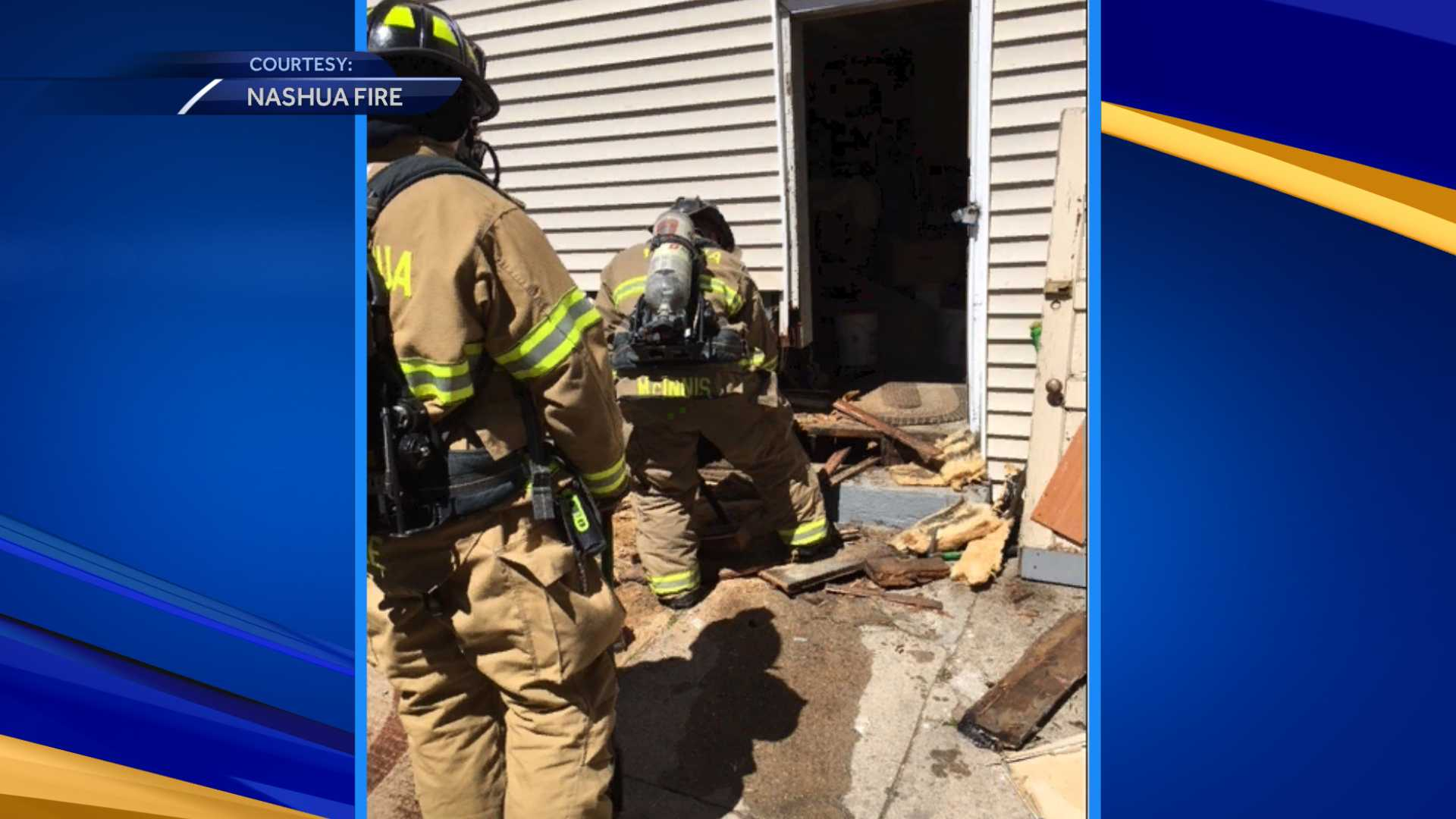 Crews respond to fire in Nashua apartment Sunday
