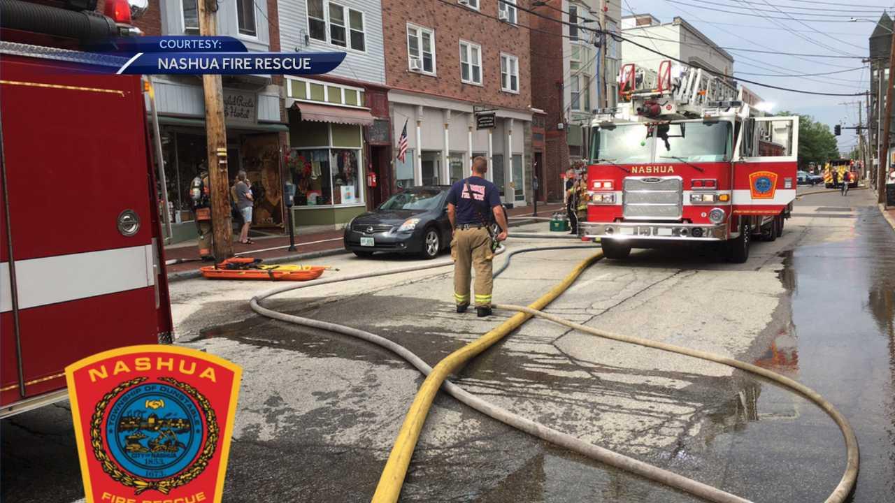 Fire damages Nashua apartment building