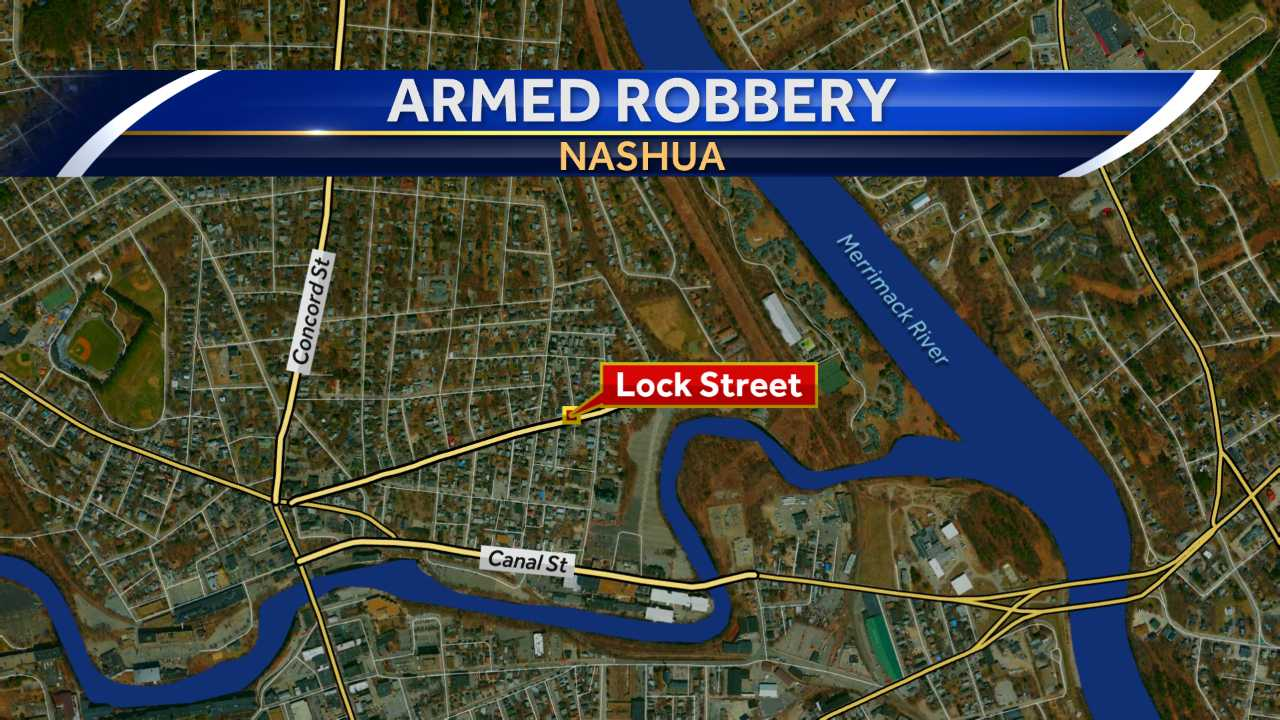 Armed robbery in Nashua
