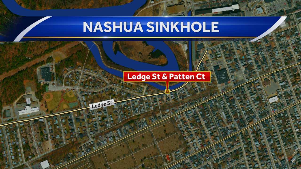 Nashua DPW repairing sinkhole that closed roadway
