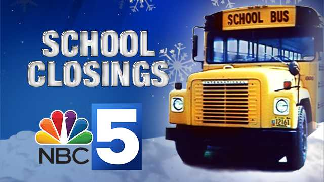 NBC5 School Closings & Delays