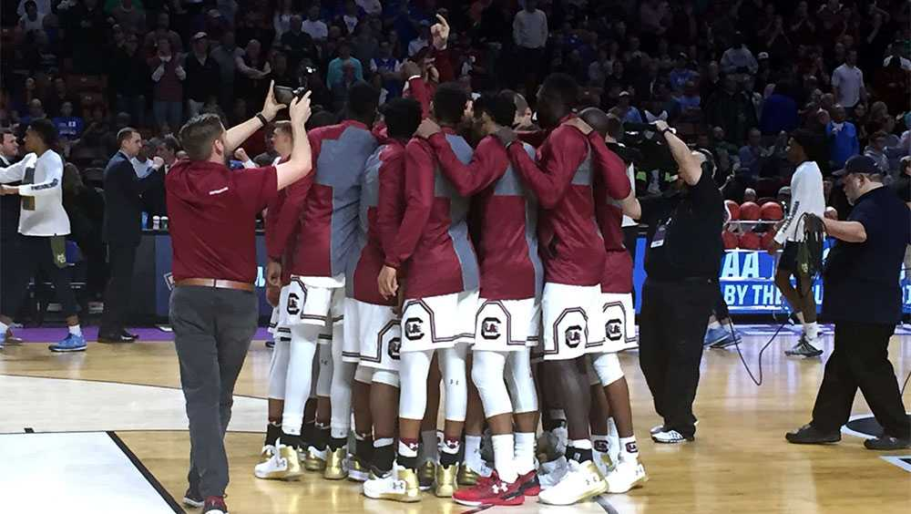 Gamecocks at The Well NCAA Tourney