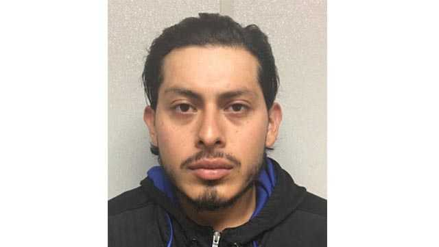 Nestor Hernandez, 27, is charged him with multiple offenses, including child abuse resulting in the death of his daughter. Kendra Hernandez on Sunday.