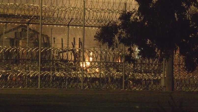A disturbance at Neuse Correctional Institution included two set fires, state corrections officials said.