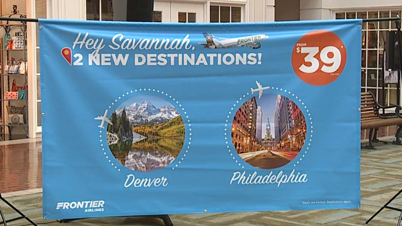 Frontier Airlines to being $39 flights from Birmingham