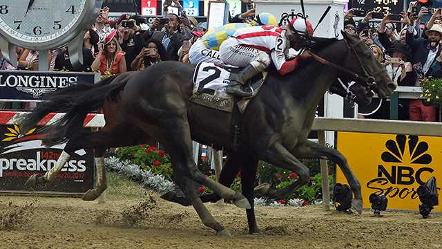 Cloud Computing edges Classic Empire to win 2017 Preakness Stakes