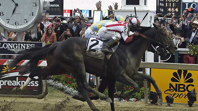 Cloud Computing surges down stretch to take Preakness