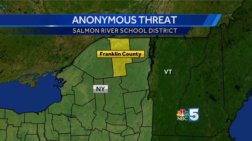 Salmon River School threat