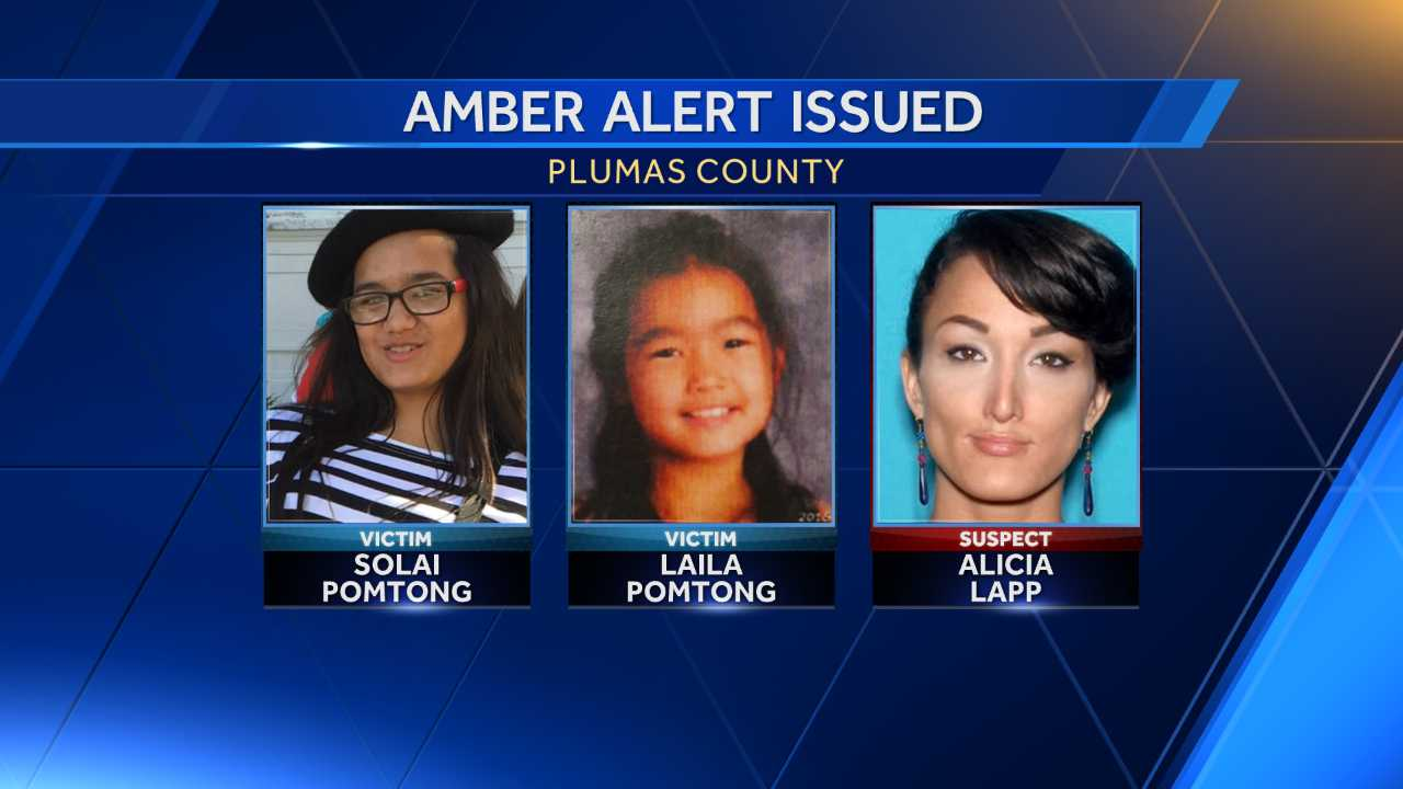 Amber Alert called for 2 girls taken in Northern California