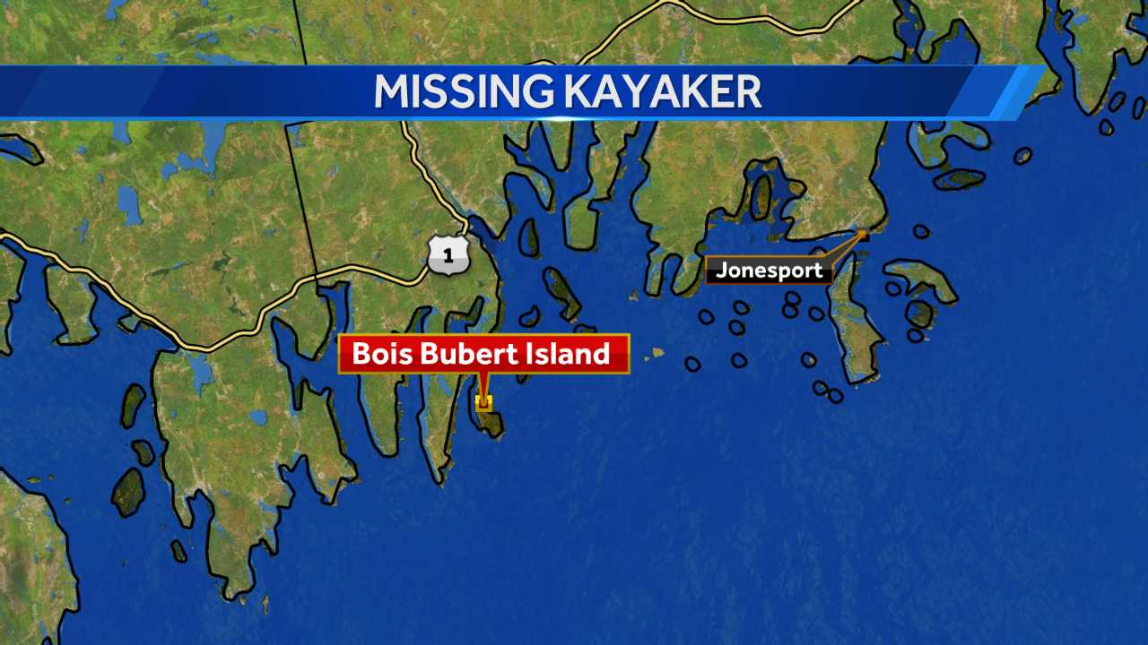 Coast Guard searching for missing Kayaker off the coast of Milbridge