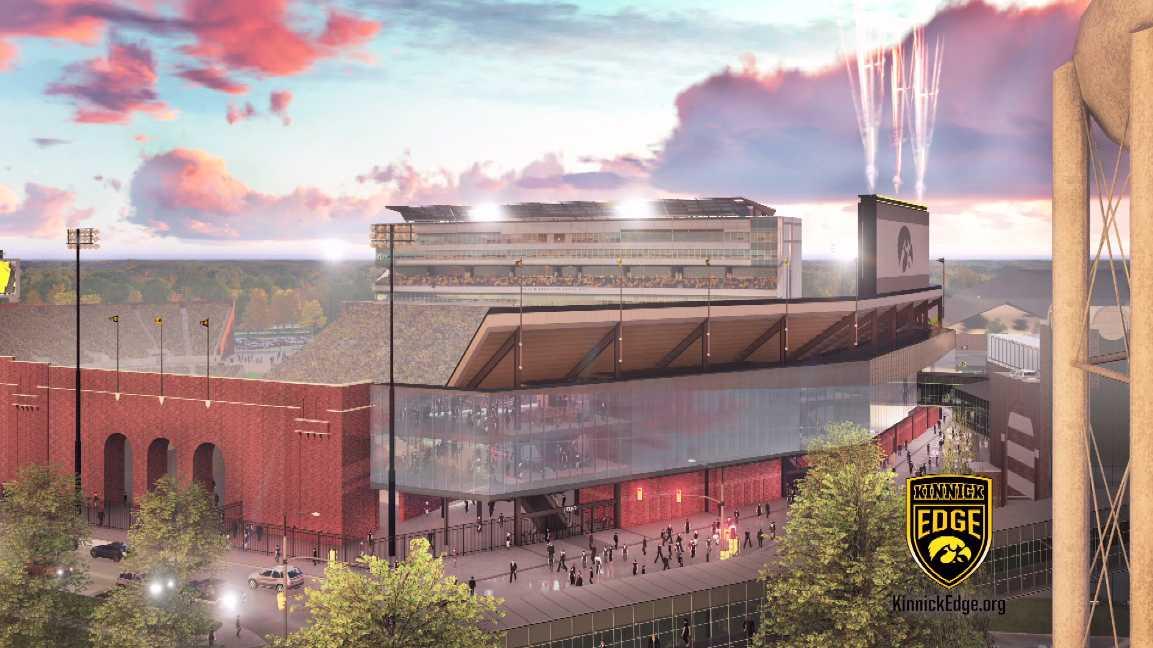 Kinnick Stadium renovations