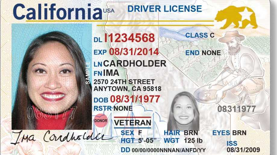California driver's licenses will soon have a new look