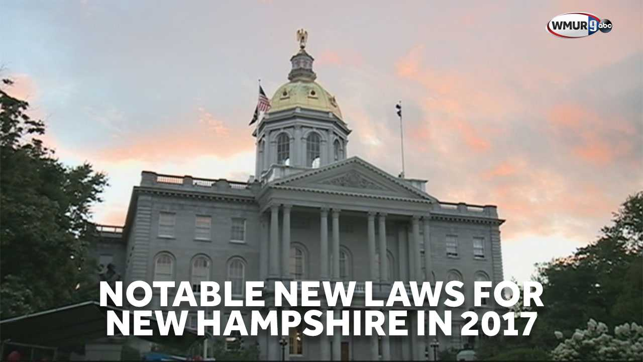 Notable new laws for New Hampshire in 2017