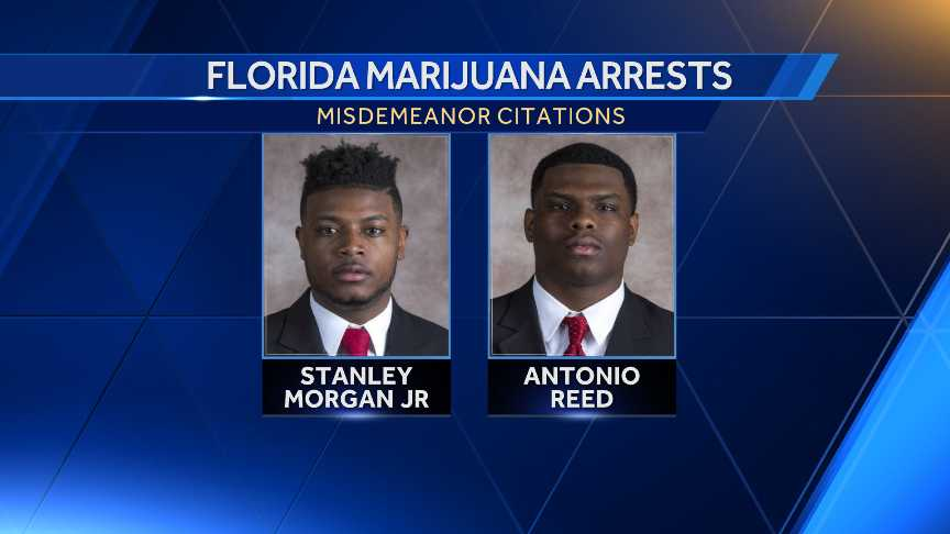 NU wide receiver arrested in Florida on drug charge