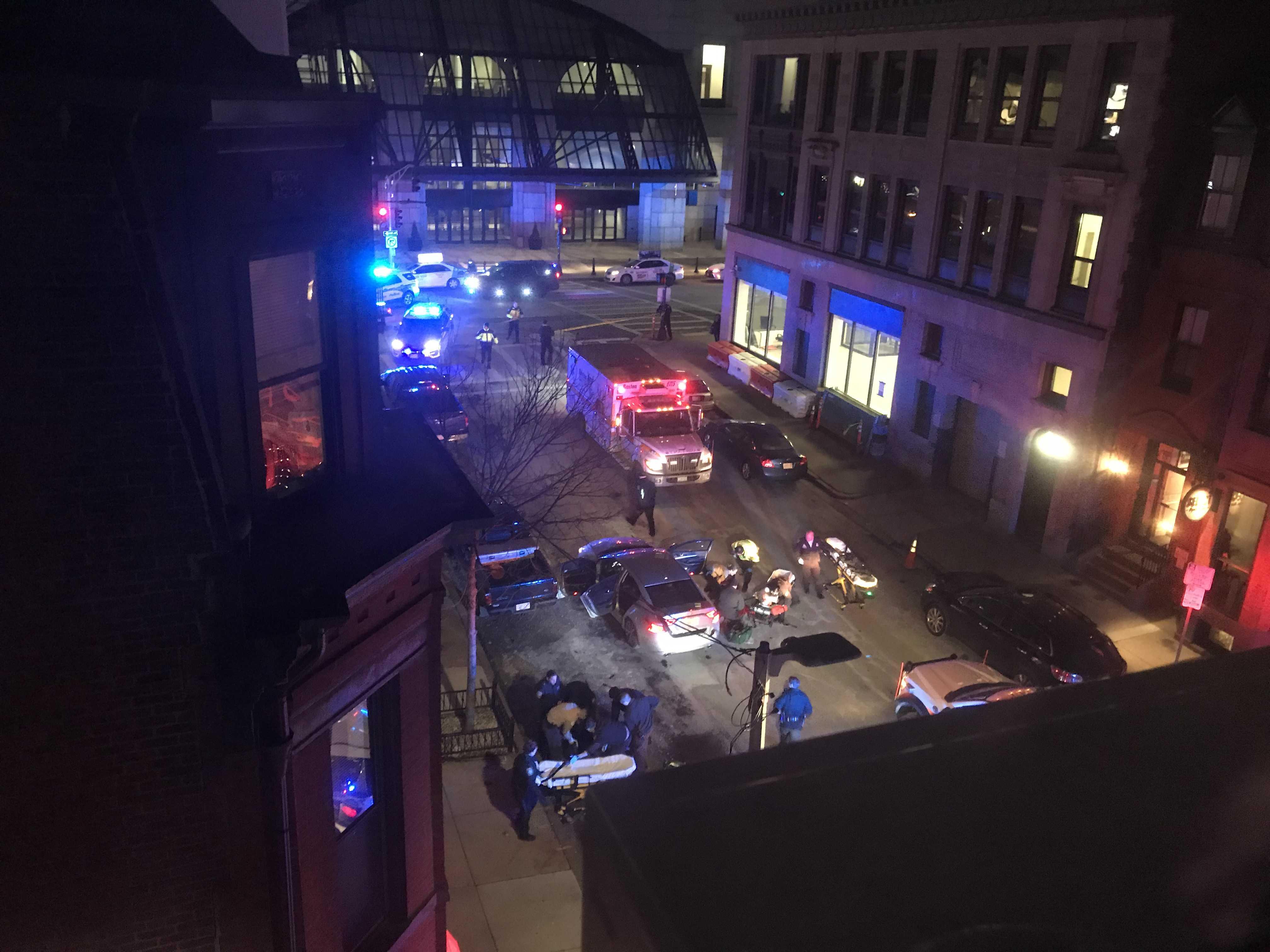 2 shot, 1 dead in Boston's Back Bay neighborhood