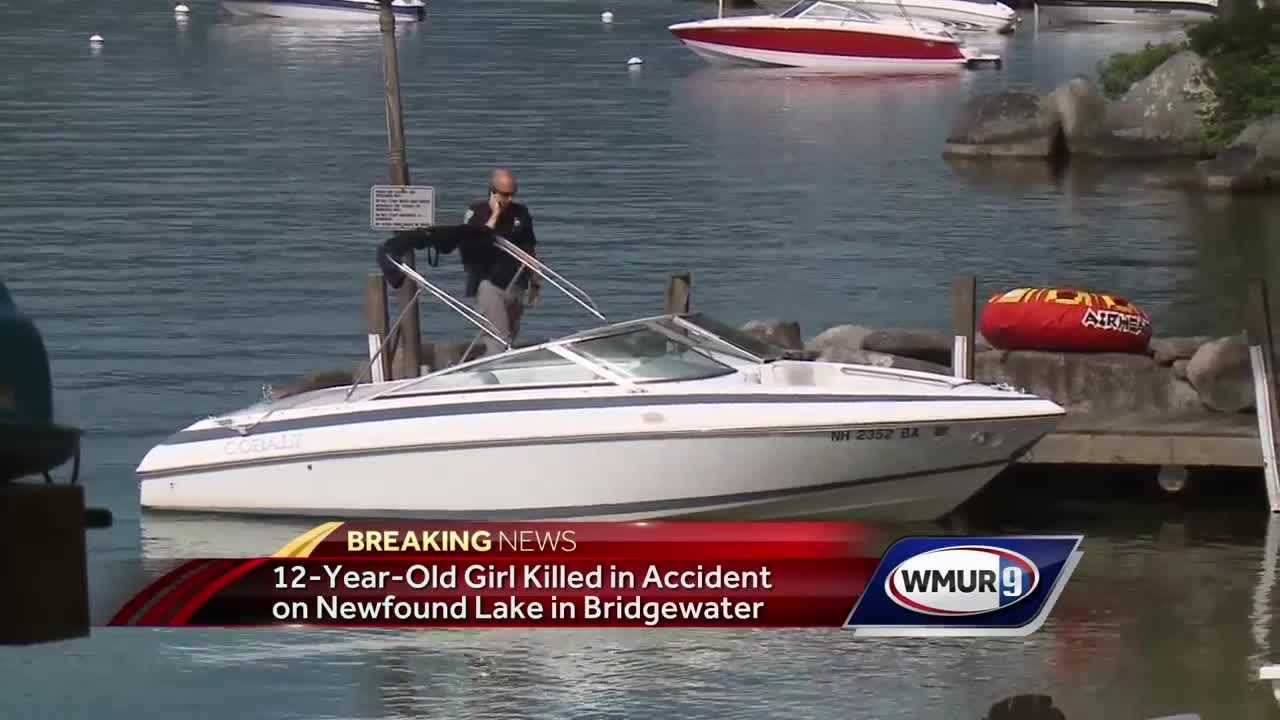 Girl, 12, run over, killed by dad on ski boat, police say