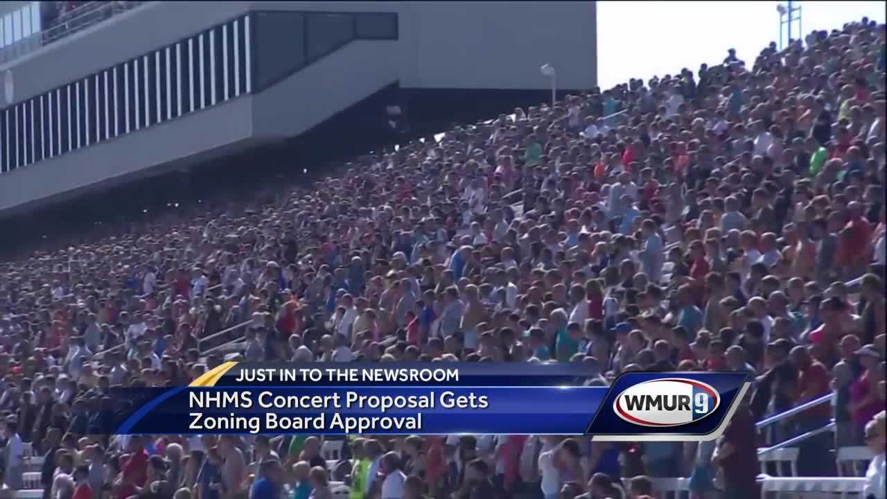 NHMS concert proposal gets zoning board approval