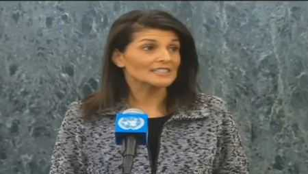 Nikki Haley at UN