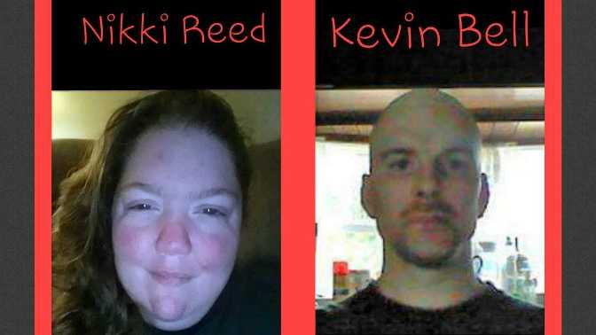 Photo of Nikki Reed and Kevin Bell from a missing persons poster