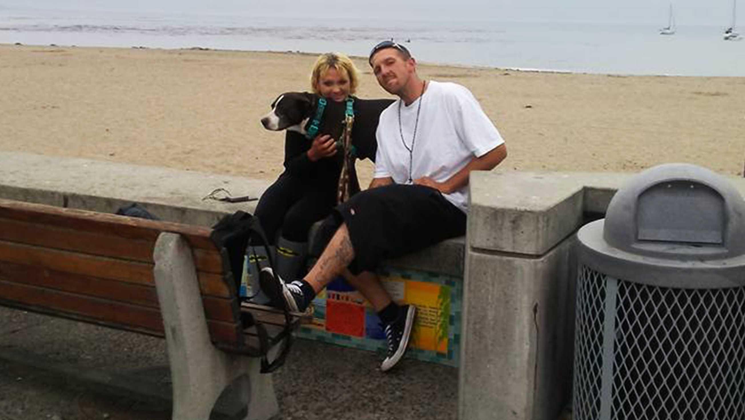 Nino Ruiz and his girlfriend
