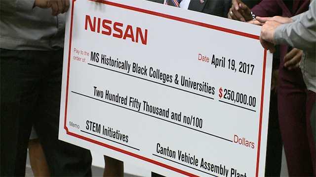 Nissan HBCU check