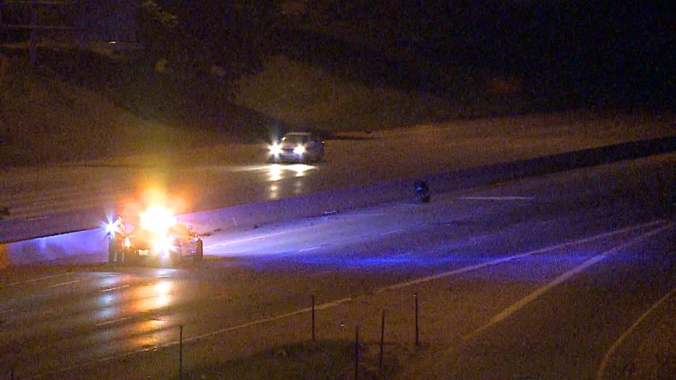 Motorcycle Crash North Freeway