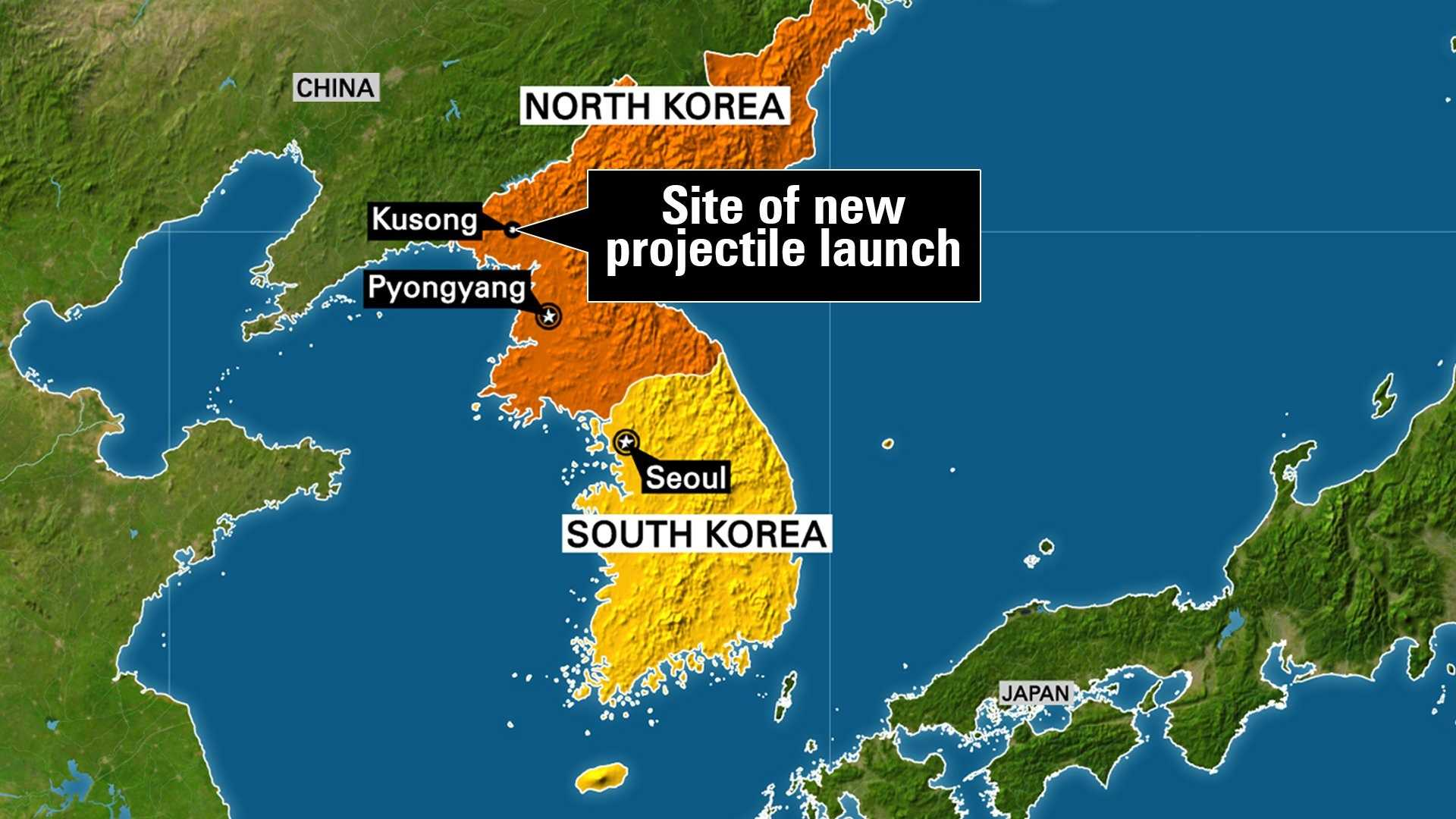 North Korea launched a ballistic missile from the northwestern part of the country early Sunday, the South Korean Joints Chief of Staff said.