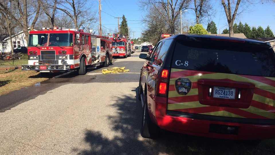 North Spartanburg fire