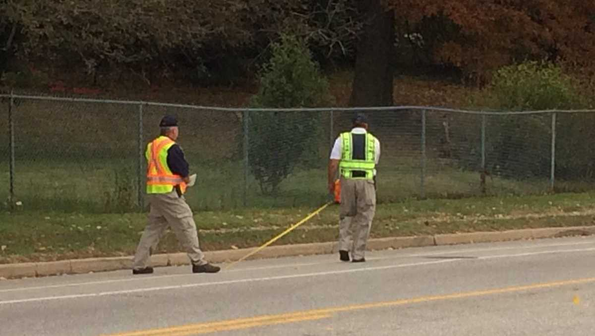 NTSB investigators at bus crash scene