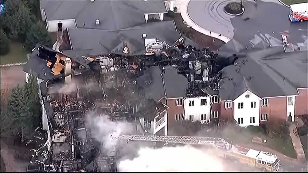 Nursing home fire Chester County