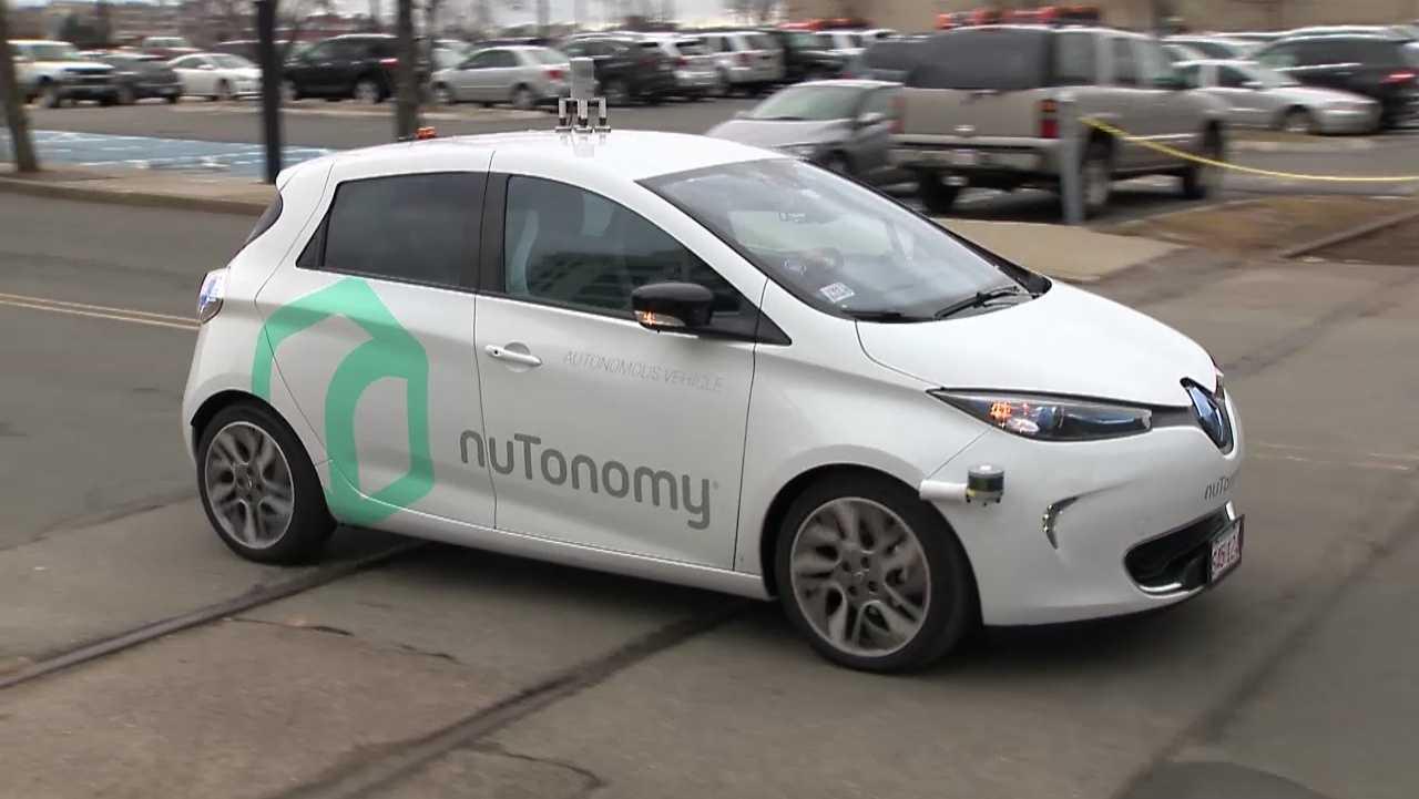 nuTonomy self-driving car test