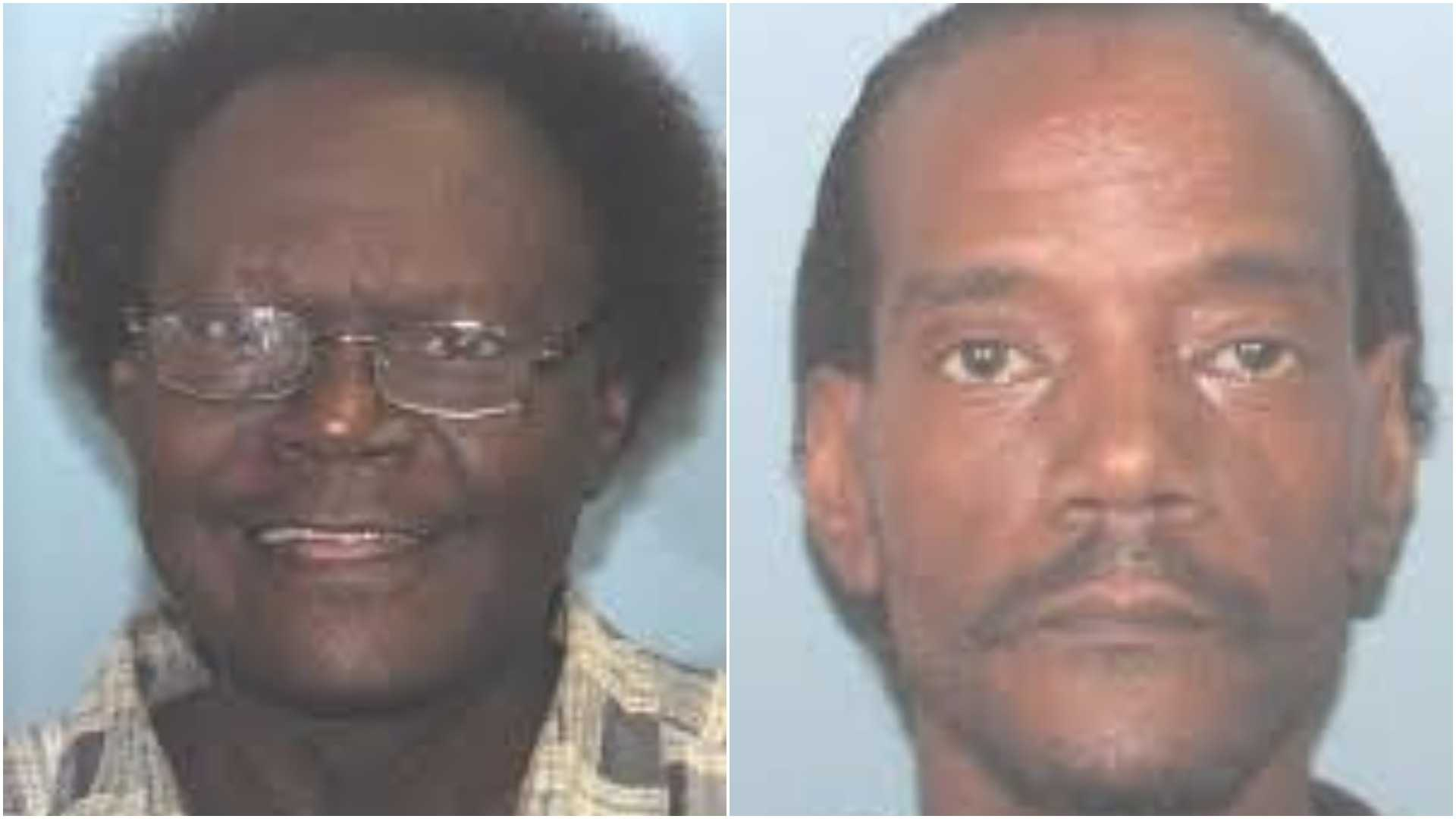 Darwin Weaver, left, and Rick Johnson were involved in a fatal confrontation Friday night, deputies say.