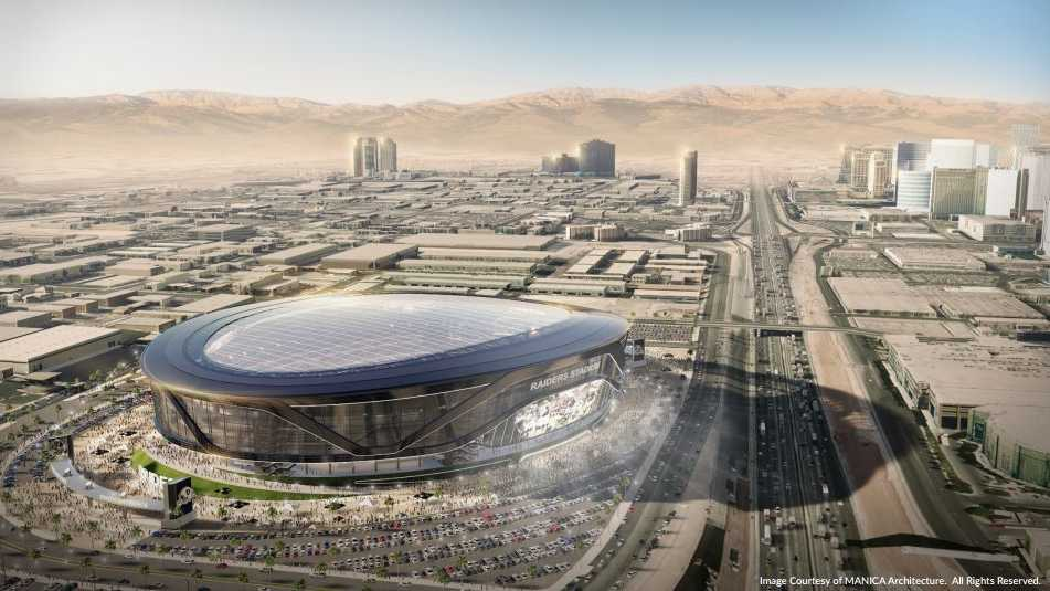 Raiders Las Vegas stadium