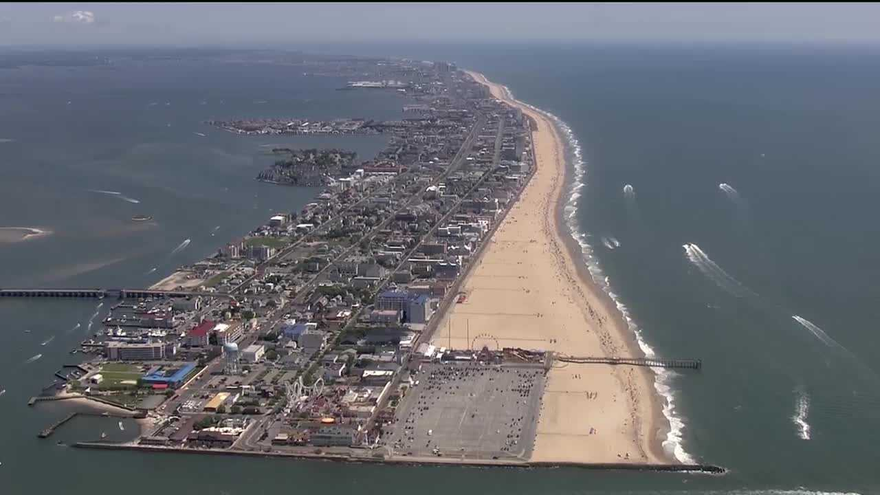 Ocean City aerial