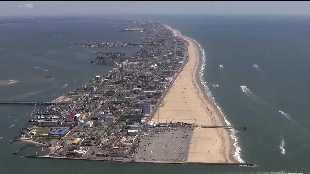 Aerial Photo Of Ocean City Md