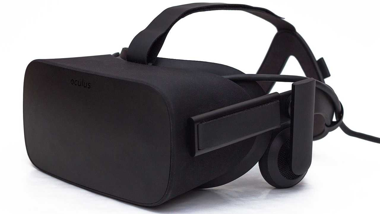 The Oculus Rift CV1 headset