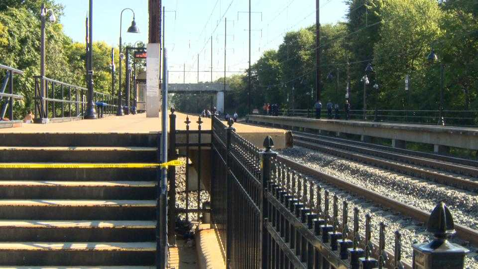 MARC's Penn Line halted after person struck by train