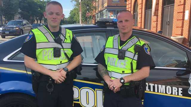 Officers Curtis and Caudle