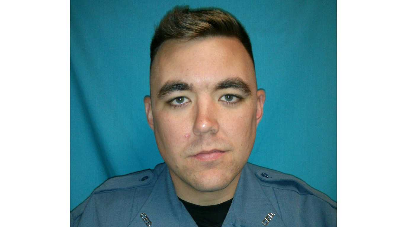 Clinton police Officer Christopher Ryan Morton, 3.6.18