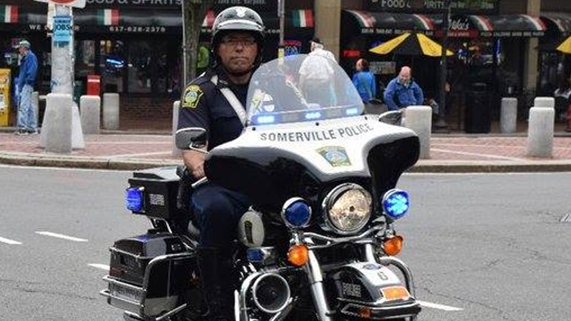 Funeral procession begins for fallen Somerville police officer